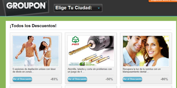 Ofertas de productos en Live Shopping