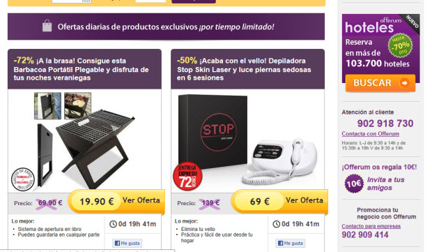 Live Shopping en Offerum