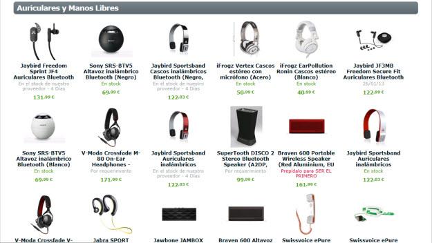 Accesorios baratos para iPhone 5 en Expansys