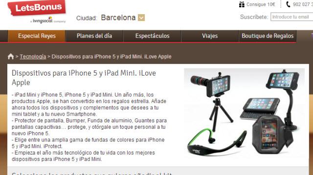 Accesorios baratos para iPad mini