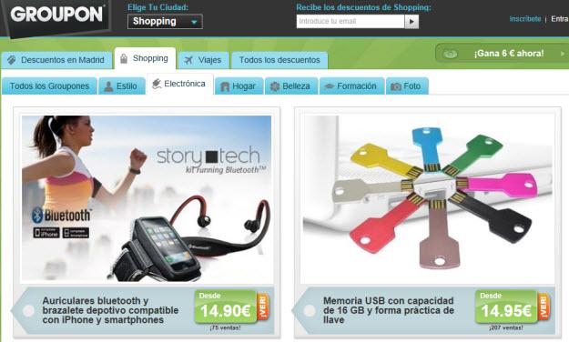 Ofertas Groupon 2013: selección de artículos a grandes precios