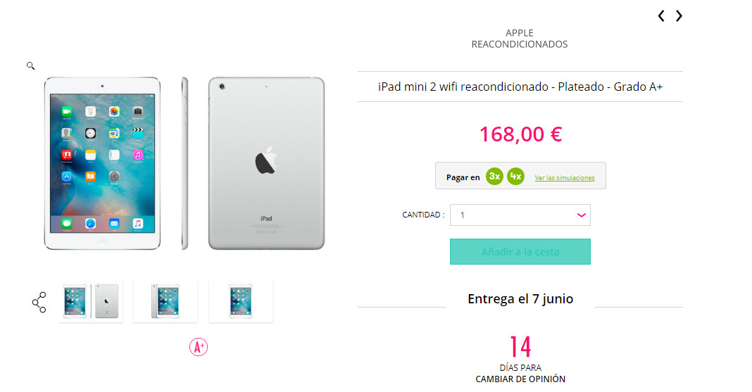 ofertas ipad apple