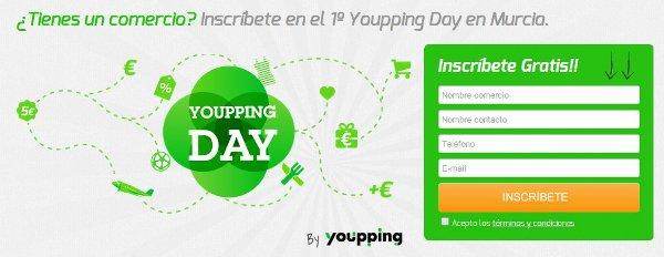 Youpping Day, el primer encuentro de comercios