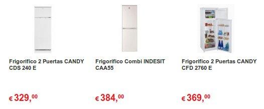 frigoríficos outlet