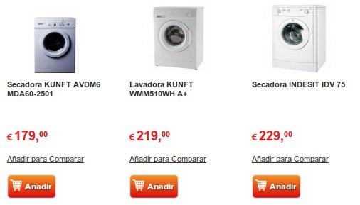 lavadoras outlet