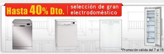 Outlet lavadoras online: rebajas sobre rebajas en electrodomésticos