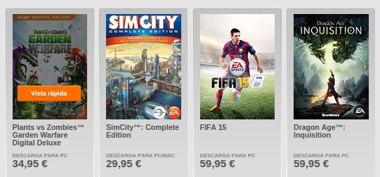 origin.com juegos online