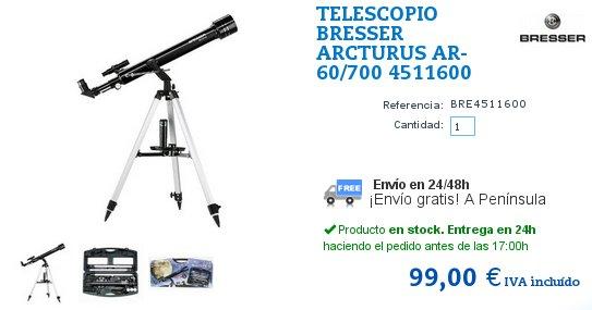 Telescopios astronómicos para principiantes