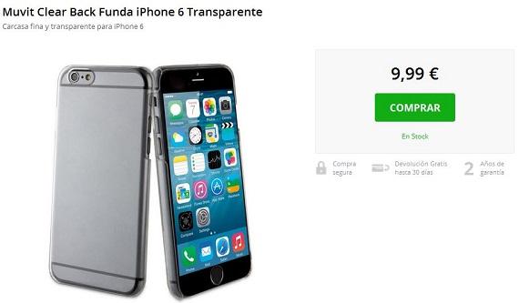 Macníficos carcasa iphone 6