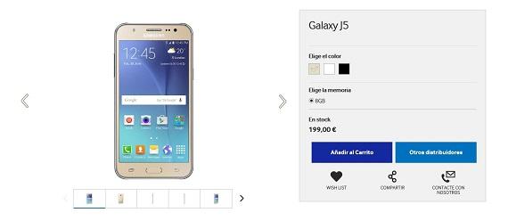 Samsung móviles