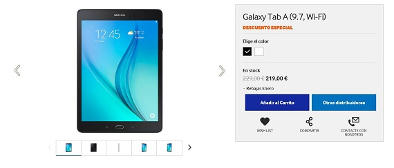 Samsung rebajas 2016