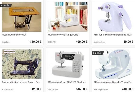 Dwanda máquinas de coser
