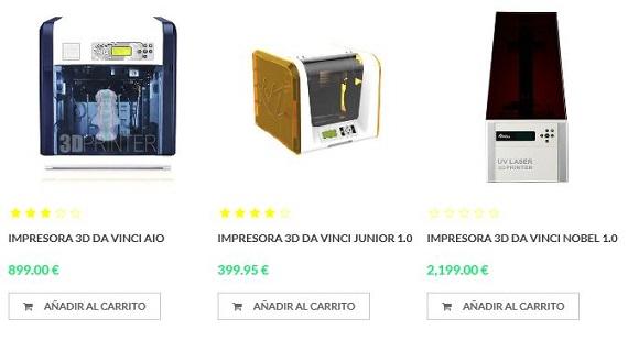 impresoras 3d precios