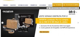 Olympus España: precios de las cámaras y objetivos Omd y EM10