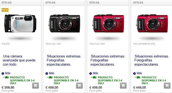 olympus cámaras