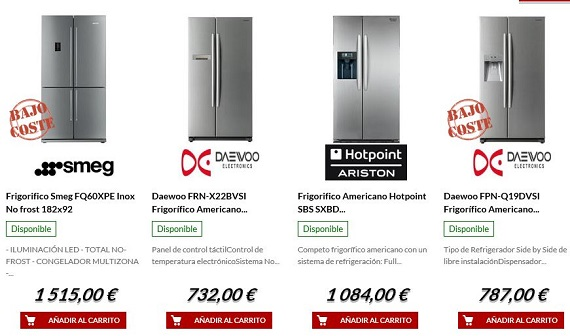 electrocosto frigoríficos