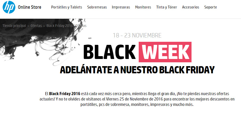 black friday hp