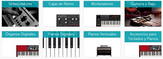 microfusa instrumentos musicales
