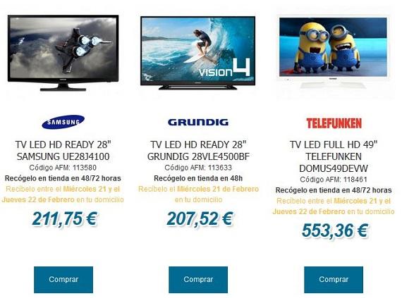 andorrafreemarket televisores
